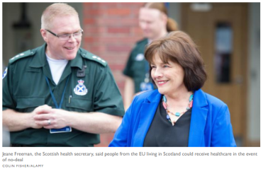 As winter bites NHS Scotland A&E is still massive 13%* better even though  NHS England fiddles the figures! – Talking-up Scotland 2021