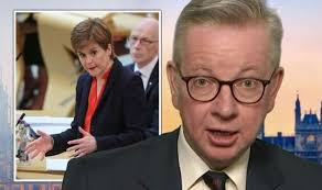 Michael Gove brands Scottish independence protesters 'bambots' as he  appeals for unity | Politics | News | Express.co.uk